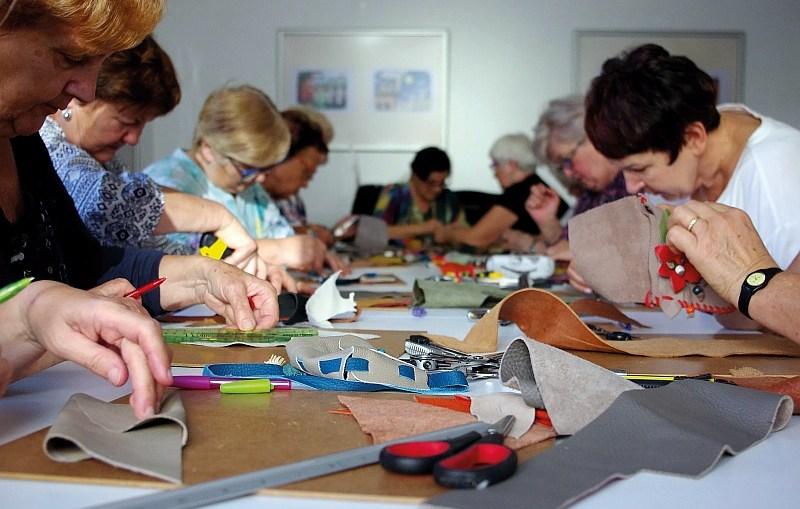 Rzemiosło artystyczne dla seniorów || Muzeum Historyczne w Lubinie