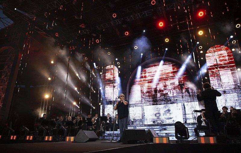 Wyjątkowy koncert z okazji 60-lecia KGHM na stadionie Zagłębia Lubin