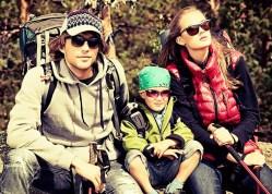 rodzinny wypad w góry