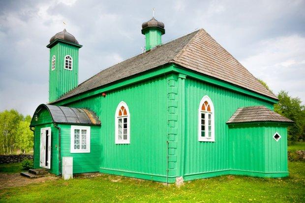 drawniany meczet w Kruszynianach