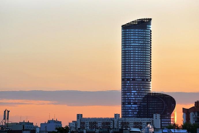 Największe atrakcje Wrocławia - Sky Tower
