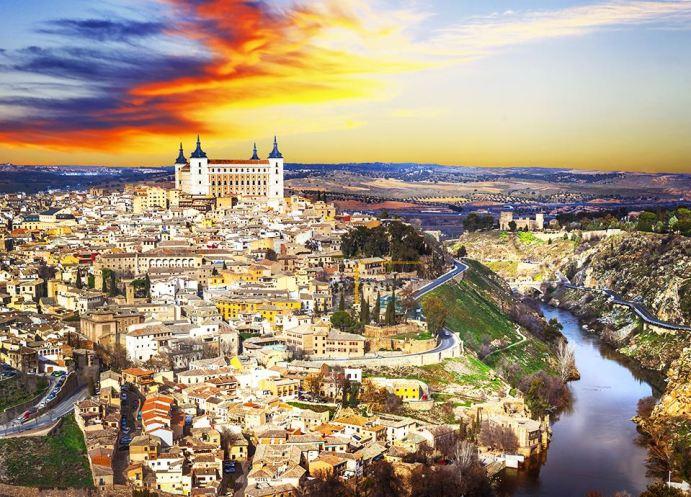 Najpiękniejsze miasta Europy - Toledo
