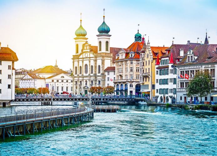 Najpiękniejsze miasta Europy - Lucerna