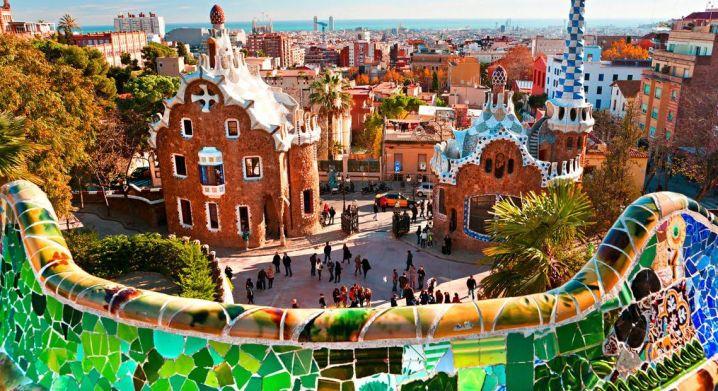 Najpiękniejsze miasta Europy - Barcelona