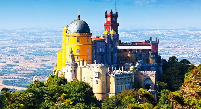 Zamki Europy - Pałac Pena, Portugalia
