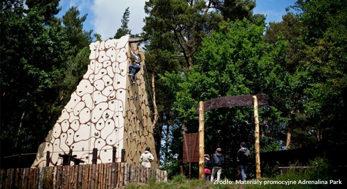Najlepsze parki rozrywki w Polsce - Adrenalina Park
