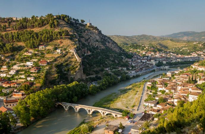 Najpiękniejsze zakątki Albanii - Berat