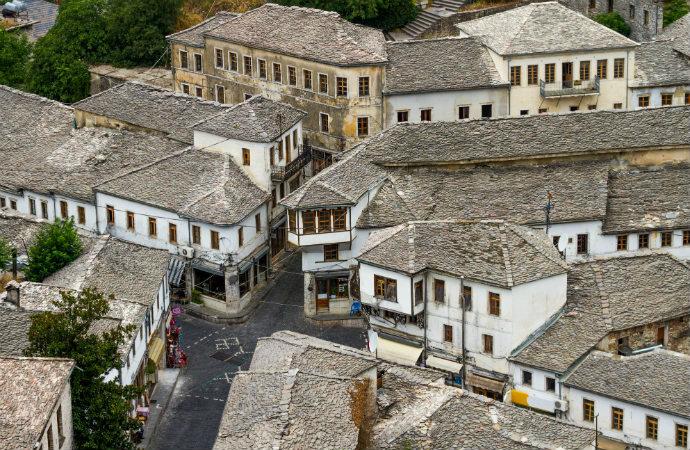 Najpiękniejsze zakątki Albanii - Gjirokastra