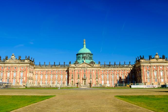 Najpiękniejsze pałace w Europie - Sanssouci
