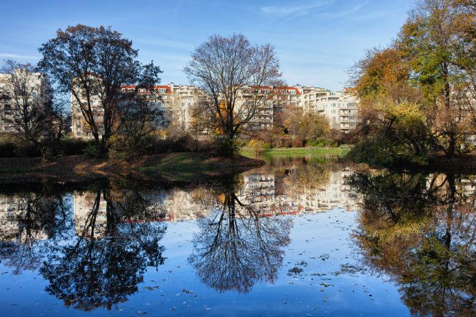 Najlepsze parki w Polsce - Park Skaryszewski w Warszawie