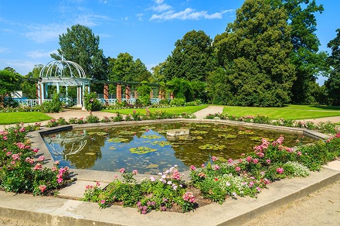 Najpiękniejsze ogrody pałacowe w Polsce - Park w Łańcucie