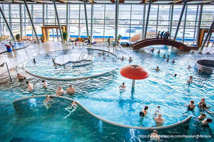 Najlepsze aquaparki w Europie - Aqualand Moravia