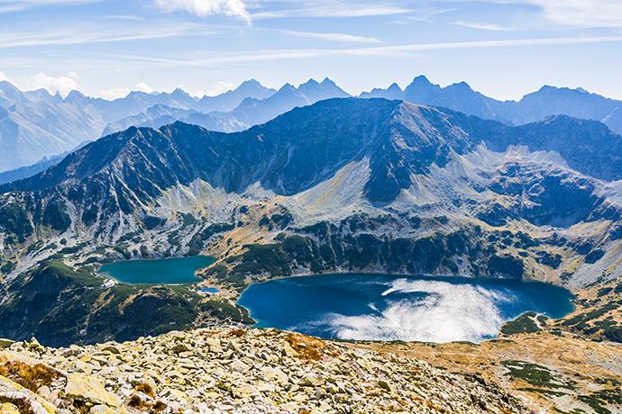 Górskie jeziora