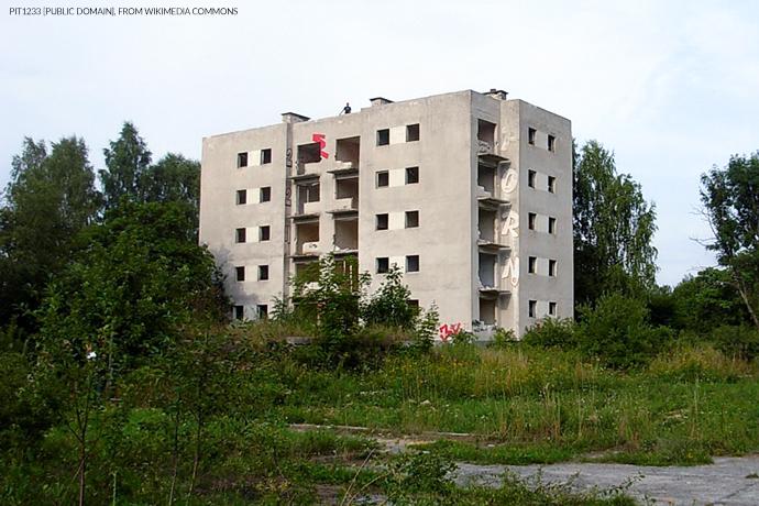 Miasto-widmo- Kłomino