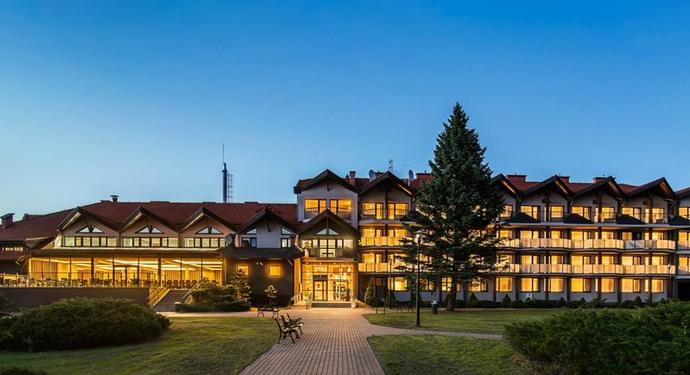 hotel mazurski raj marina spa mazury