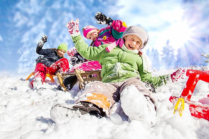 Zimowe atrakcje dla dzieci