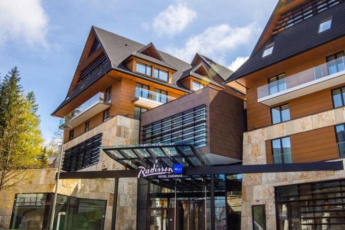 Eko-hotele: Radisson Blu Hotel & Residences Zakopane