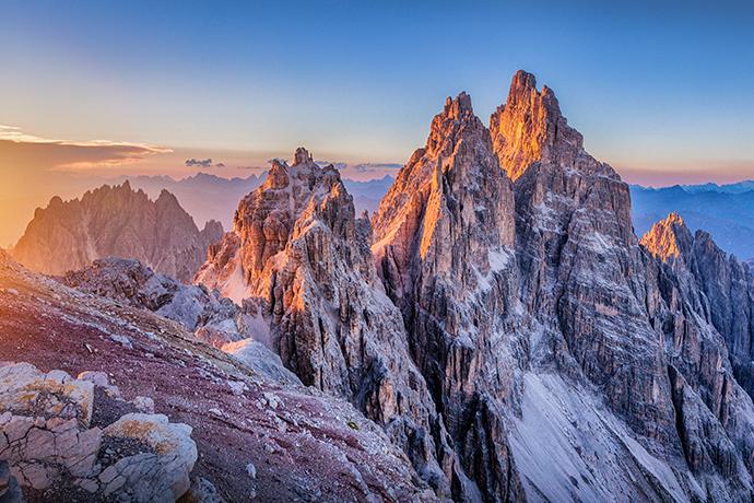 Włoskie Aply - Dolomity