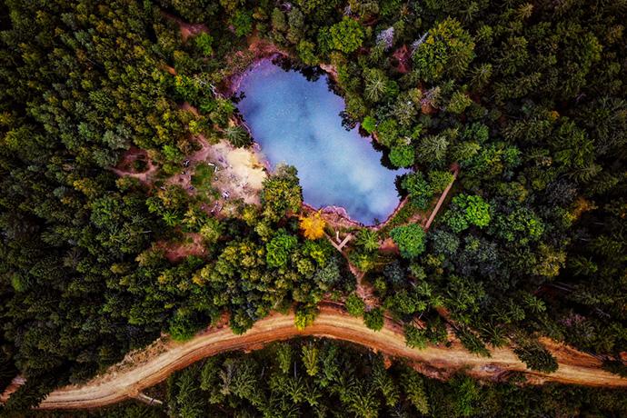 Najbardziej kolorowe miejsca w Polsce - Jeziorka w Rudawach Janowickich