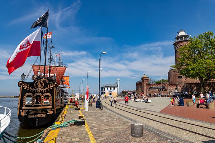 Promenady nad Bałtykiem - Kołobrzeg
