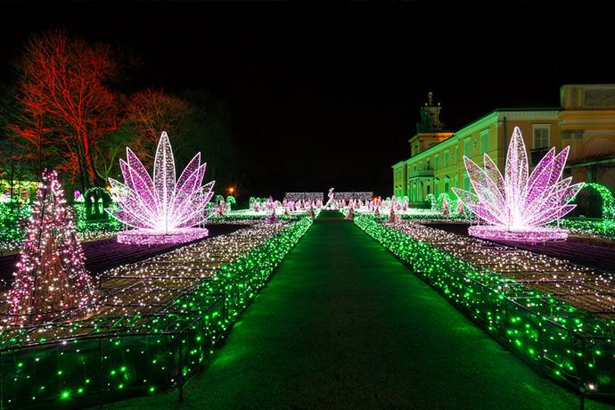 Najpiękniejsze ogrody pałacowe w Polsce - Ogród w Wilanowie