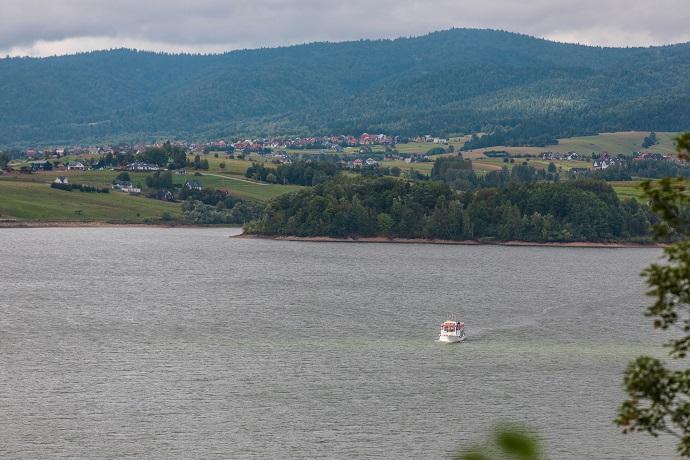 Poznaj Polskę z Travelist: Podhale i Pieniny - Jezioro Czorsztyńskie