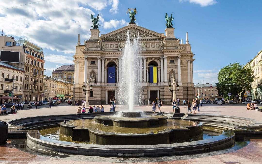 Ukraina – niech żyje Lwów!