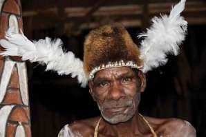 Wojownik z plemienia Asmatów