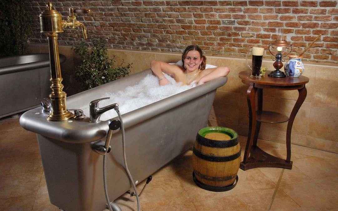 Czeska kąpiel… w piwie