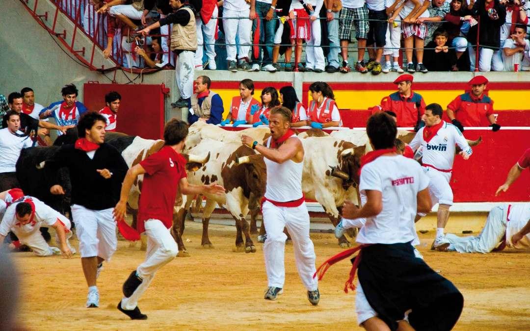 Hiszpania – Fiesta de San Fermines w Pampelunie