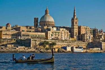 Malta---Valletta-from-Marsamxett-Harbour-01-by-Clive-Vella
