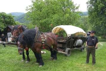 Wóz maziarski to kawał historii przemysłu naftowego.
