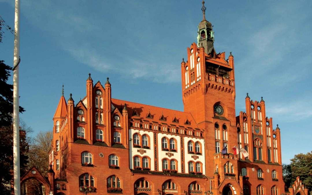 Polska – pocztówka ze Słupska