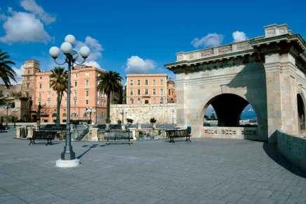 Bastion św. Remigiusza w Cagliari
