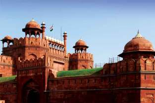 Czerwony Fort w Nowym Dehli
