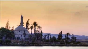 Hala sultan Tekke mosque in Cyprus