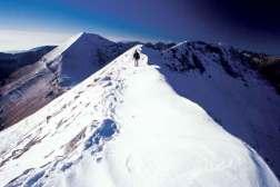 Na osnieżonej grani Konczeto, fot. Paweł Wroński