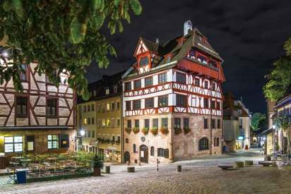 Dom Albrechta Dürera, uważanego za najwybitniejszego artystę niemieckiego renesansu, należy do najczęściej odwiedzanych atrakcji turystycznych Norymbergi.