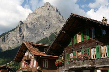 Bire (2502 m) - góra domowa Kandersteg, fot. Paweł Wroński