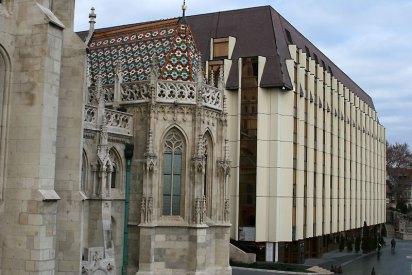Budapeszt, Hotel Hilton w rejonie Zamku Królewskiego w Budzie, fot. Paweł Wroński