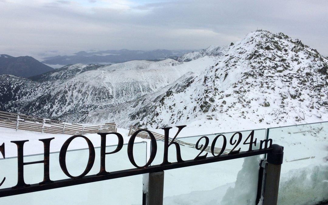 Słowacja – Jasná, początek zimowego sezonu