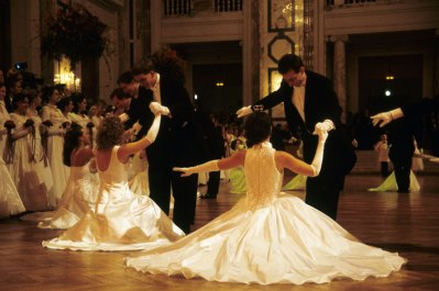 Bal w Hofburgu, fot. Paweł Wroński