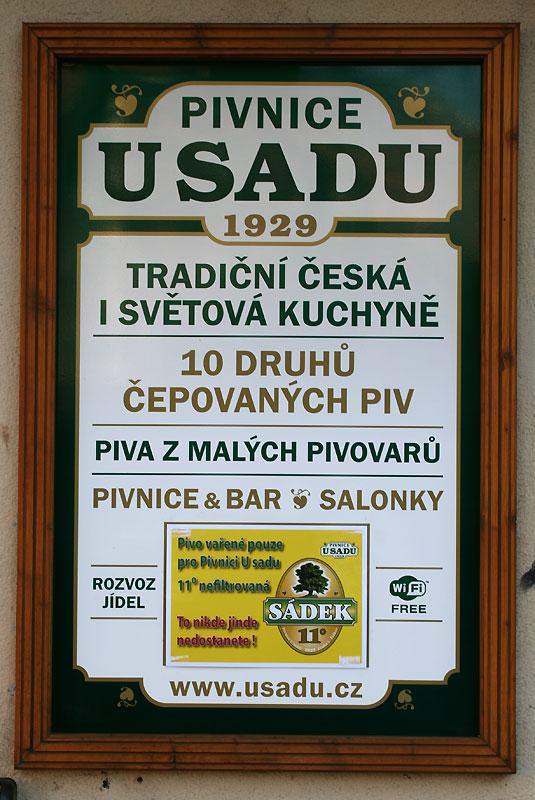 """Oferta gospody """"U sadu"""" z Žižkova (www.usadu.cz), fot. Paweł Wroński"""