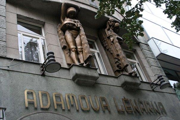Adamova lékárna przy Placu Waclawa w Pradze, fot. Paweł Wroński