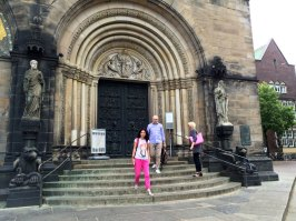 Portal katedry św. Piotra w Bremie, fot. Paweł Wroński