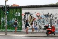 Berlin. East Side Gallery, fot. Paweł Wroński