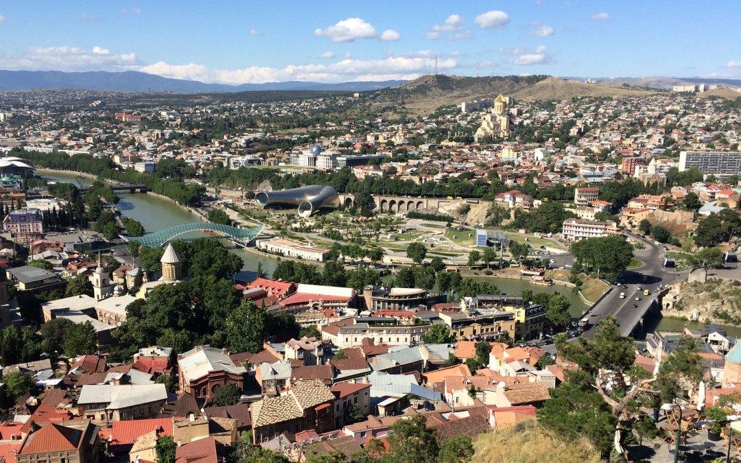 Śmiałe akcenty w Tbilisi