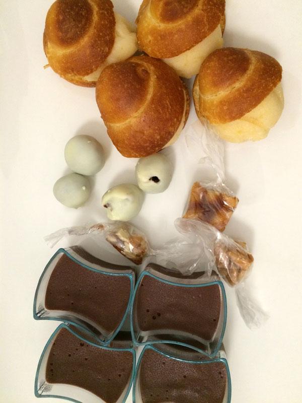 To jeszcze nie koniec, bo do kawy i kieliszka marsali zestaw słodkości spod Etny, czyli Piccola Pasticceria Siciliana, fot. Paweł Wroński