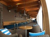 Designerskie wnętrze restauracji w Marinie Liptov w Bobrowniku, fot. Paweł Wroński