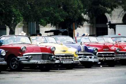 Havana,-samochody